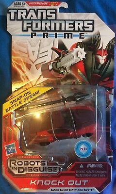 Transformers Prime Deluxe KNOCK OUT (Hasbro) NEU & OVP