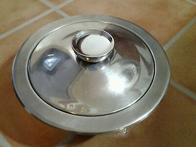 Kuhn Rikon Stainless Steel Casserole Cooking Stock Pot With Lid