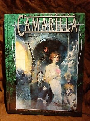WW 2302 Guide to the Camarilla- Vampire the Masquerade - World of Darkness