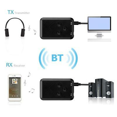 2 in1 Bluetooth 4.2 Transmitter and Receiver 3.5mm Wireless Stereo Audio Adapter