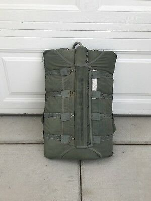 Used Nb-8 Military Pilot Backpack Parachutes
