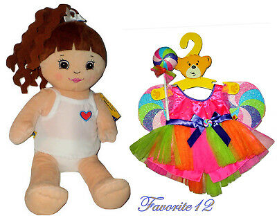 """Build a Bear Honey Doll Lollipop Outfit 2012 Friends 2B Made Large 17"""" Plush Toy"""