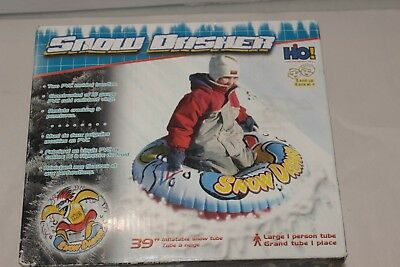 """Snow Dasher Inflatable Winter Sledding 38"""" SNOW TUBE - New in Box"""