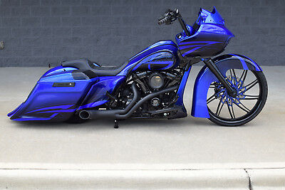"""2017 Harley-Davidson Touring  2017 ROAD GLIDE BAGGER *1 OF A KIND* 26"""" WHEEL!! STUNNING PAINT!! MUST SEE! WOW!"""