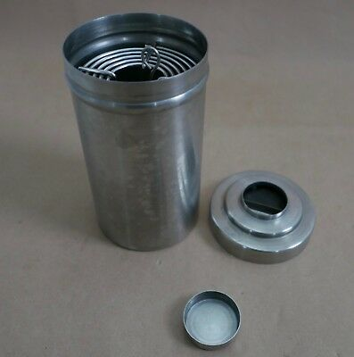 Nikor Double Stainless Steel Developing Tank, Two Reels For 120 Film, Cap & Lid