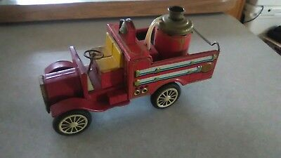 Vintage Cragston old smokey Fire Truck Made In Japan