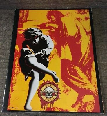 Vintage Original 1991 Guns & Roses Use Your Illusion Tour Concert Program
