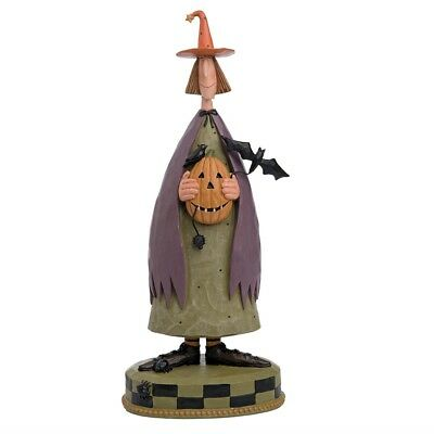 "Williraye Studio Large Halloween Witch Pumpkin Bat Figure 13"" Tall"