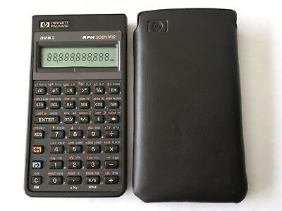 HP 32SII Calculator and HP case, Great working Condition