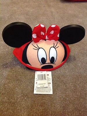 Minnie Mouse hat With Ears and a bow infant (52cm) new with labels