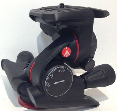 Manfrotto XPRO Geared 3 Way Head with Adapto Body #MHXPRO-3WG MC3-B1