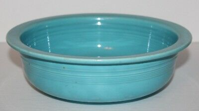 """Vintage Fiesta Turquoise Pasta Bowl  8 1/2"""" Inches Wide"""