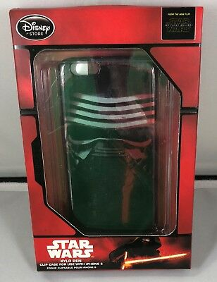 New Disney Store Star Wars Kylo Ren The Force Awakens  Iphone 6 Clip Case