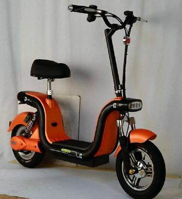 YQ 500w/48v Foldable Mini City Coco Electric Motorcycle Ebike Scooter NEW