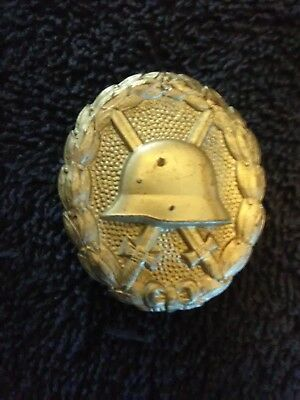 Wwi Imperial German Silver Wound Badge-Original-Nice