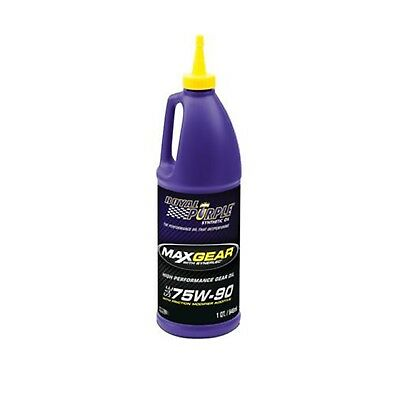 Royal Purple 01300 Max Gear 75W-90 Synthetic Gear/Differential Oil 1 Quart - 1qt