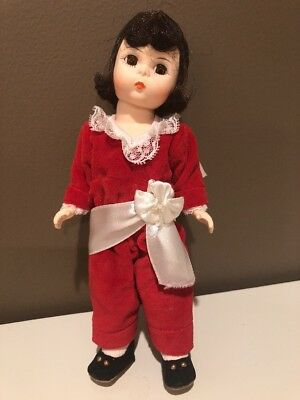 Madame Alexander Red Boy Doll 8 Inch Vintage - No box