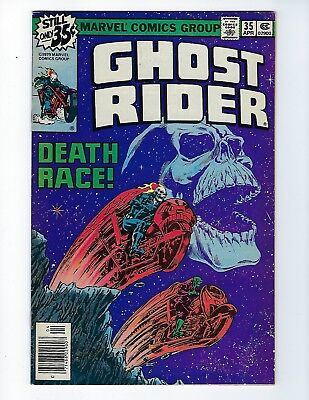 GHOST RIDER (Vol.1) # 35 (DEATH RACE, CENTS ISSUE, APR 1979), FN+