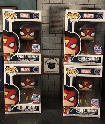 Funko Pop! Spider-Woman Pop! 2018 NYCC Convention Exclusive IN STOCK