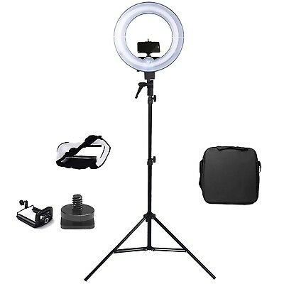 "Ring Light 13.5"" 40W (300W equivalent) 5500K Photo Video Studio Light RRP £60.00"