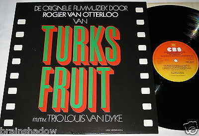 Ost TURKS FRUIT Rogier Van Otterloo LP CBS Rec. HOLLAND 1973 Rare JAZZ FUNK !!!