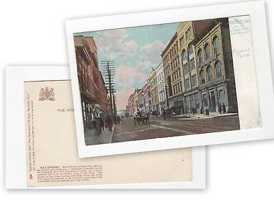 Knoxville Tennessee, Old card, of Gay Street,  (656