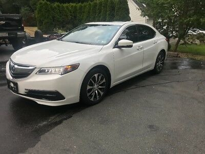 2017 Acura TLX TECH 2017 ACURA TLX REBUILDABLE SALVAGE REBUILT PROJECT ****NO RESERVE****