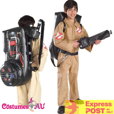 Boys Ghostbusters Costume Ghost Busters Jumpsuit 80s 1980s Child Kids Uniform