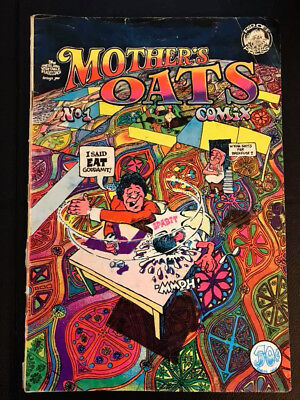 Mother Oats Comix #1- 3rd Edition (Oct 1969, Rip Off Press) Underground VG+