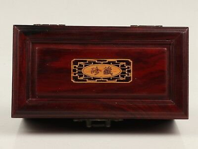 Premium Wooden Jewelry Box Old Crafts High-End Gift Collection