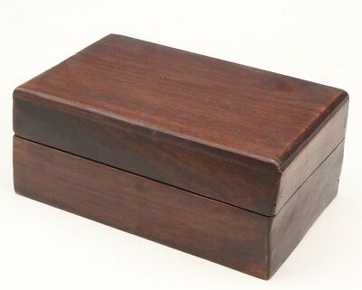 Precious Chinese Wooden Jewelry Box Old Crafts Decoration Collection