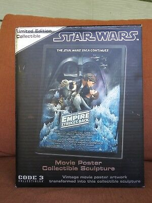 Star Wars, The Empire Strikes Bacl Style A, CODE 3 Limited Edition 0643 of 3,000