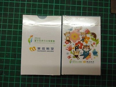 Mandarin  AIRLINES playing cards deck  Taichung Flora exposition