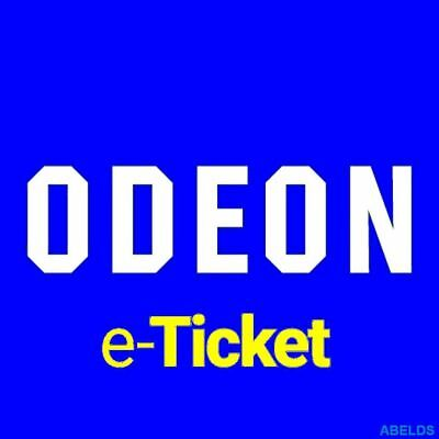 Odeon Cinema Ticket Adult & Kids outside M25 - INSTANT EMAIL CODE DELIVERY !!!