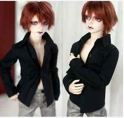 BJD Doll Classic Black Shirt for 1/4 MSD Doll Clothes CMB4
