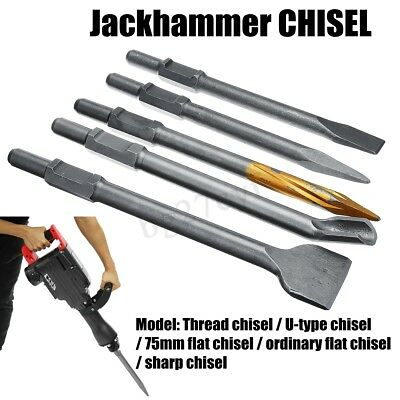 Drill Chisels For Electric Demolition Hammer Concrete Breaker Jackhammer 40CR