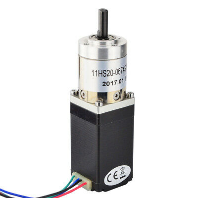 Nema 11 Gear Stepper Motor with 27:1 Planetary Gearbox 0.67A for CNC 3D Printer