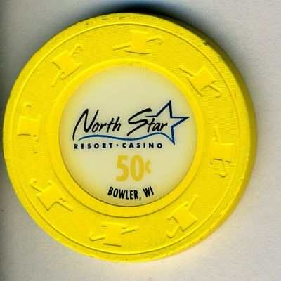 $.50 * North Star Casino * in Bowler, Wisconsin.