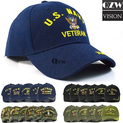 US Military Tactical Army Navy Marine Air Veteran Adjustable Baseball Cap Hat