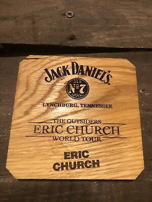 Eric Church Outsiders Tour Jack Daniels Barrel Coaster