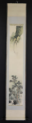 "CHINESE HANGING SCROLL ART Painting ""Scenery""  #E3749"