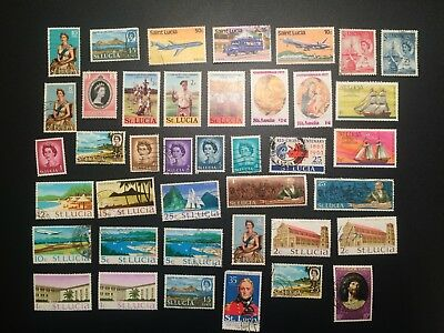 St. Lucia Stamps