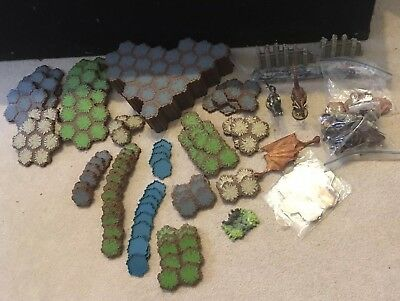 Heroscape Master Set Rise of Valkyrie Build & Battle Game System Incomplete