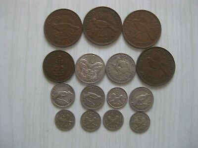 Odd lot of New Zealand Coins.