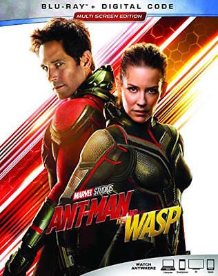Ant-Man And The Wasp Blu-Ray - Single Disc Edition - New Unopened - Paul Rudd