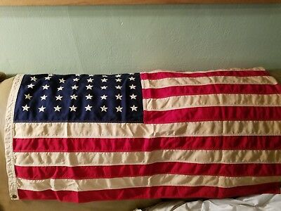 Vintage American Flag with 48 stars