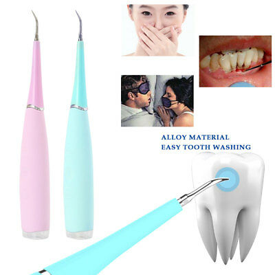 USB Electric Sonic Dental Scaler Teeth Calculus Remover Tooth Stains Tool