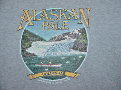 0e884c19f9f Alaska Brewing Company Pale Ale Beer T Shirt L Large Vintage-Look Hanes  Beefy T