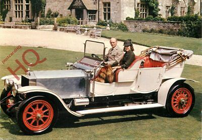 Picture Postcard~ NATIONAL MOTOR MUSEUM, 1909 ROLLS-ROYCE 'SILVER GHOST