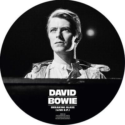 "DAVID BOWIE 'BREAKING GLASS EP' (40th Anniv.) 7"" VINYL Picture Disc (2018)"
